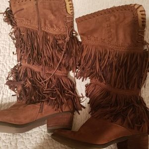 NotRated Fringed Boots